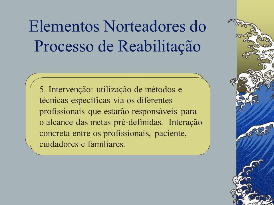 Elementos Norteadores do Processo de Reabilitação 5.