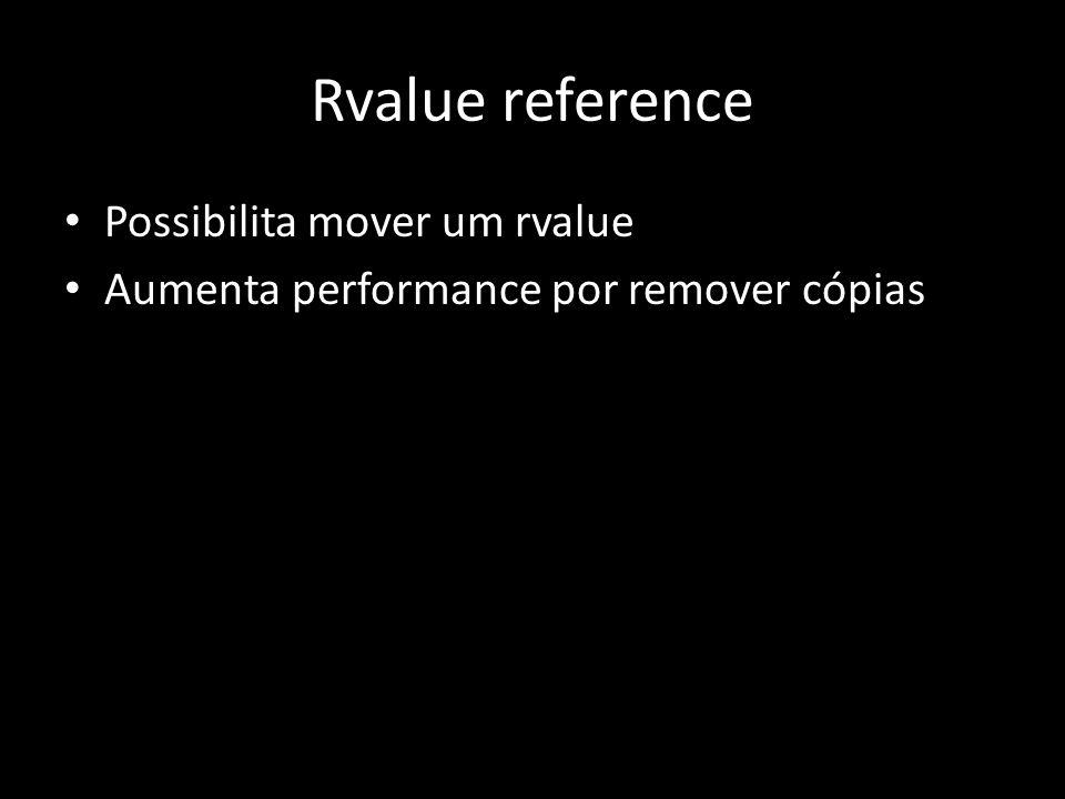 static_assert Checar condições em tempo de compilação Útil para programação com templates