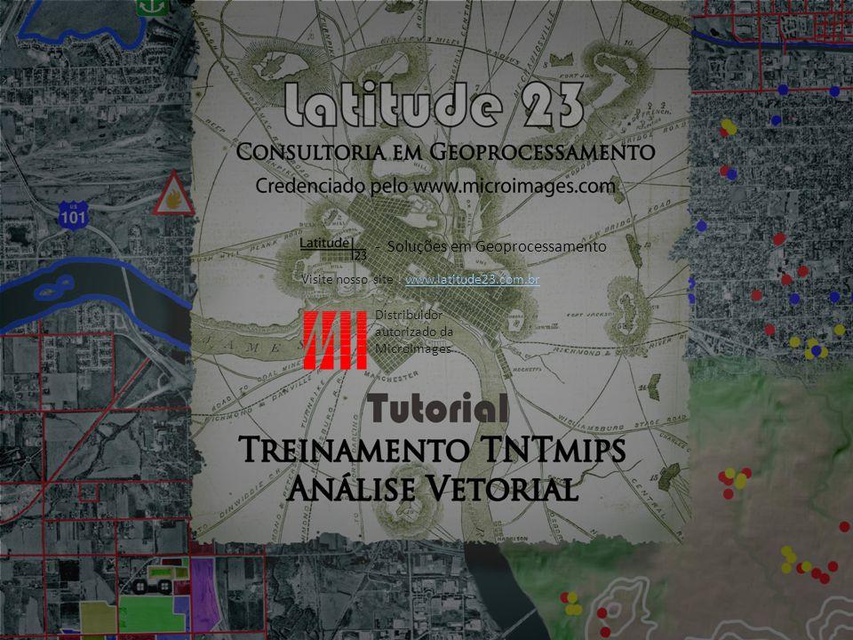 Teoria Vetores e bancos de dados No geoprocessamento, vetores possuem bancos de dados associados aos seus elementos (polígonos, linhas, pontos e nós).