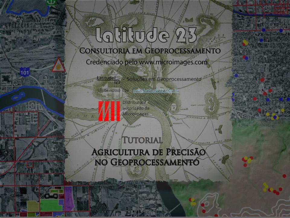 Visite nosso site para conhecer toda a série de tutoriais da Latitude 23: http://latitude23.com.br/tntmips-treinamento-cursos/ http://latitude23.com.br/tntmips-treinamento-cursos/ Soluções em Geoprocessamento Parabéns.