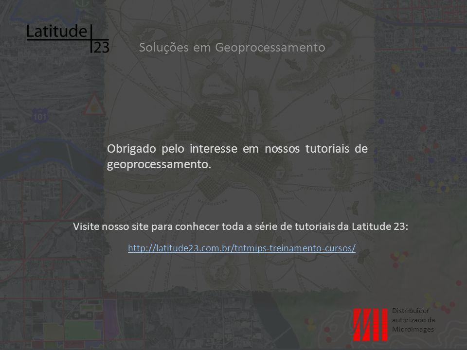 Visite nosso site para conhecer toda a série de tutoriais da Latitude 23: http://latitude23.com.br/tntmips-treinamento-cursos/ http://latitude23.com.br/tntmips-treinamento-cursos/ Soluções em Geoprocessamento Obrigado pelo interesse em nossos tutoriais de geoprocessamento.