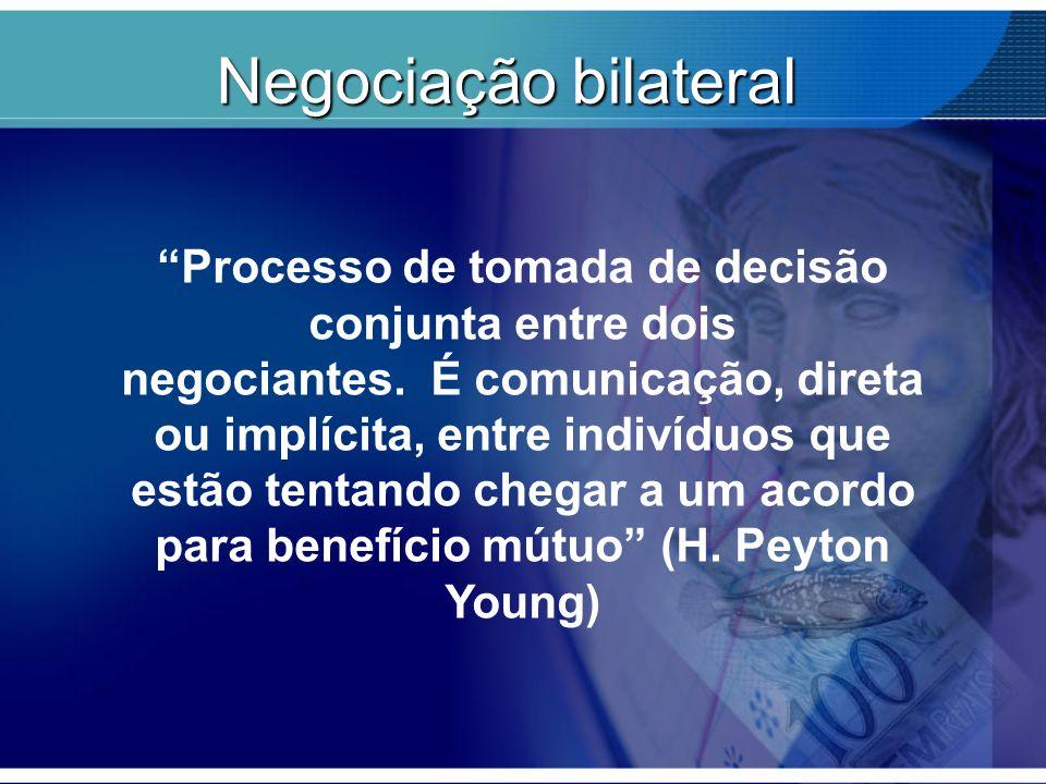 """""""Processo de tomada de decisão conjunta entre dois negociantes. É comunicação, direta ou implícita, entre indivíduos que estão tentando chegar a um ac"""