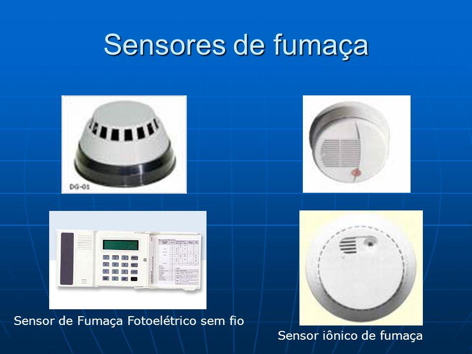 Sensores de fumaça Sensor de Fumaça Fotoelétrico sem fio Sensor iônico de fumaça