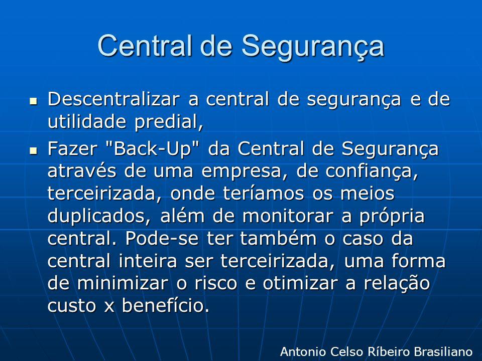 Central de Segurança Descentralizar a central de segurança e de utilidade predial, Descentralizar a central de segurança e de utilidade predial, Fazer