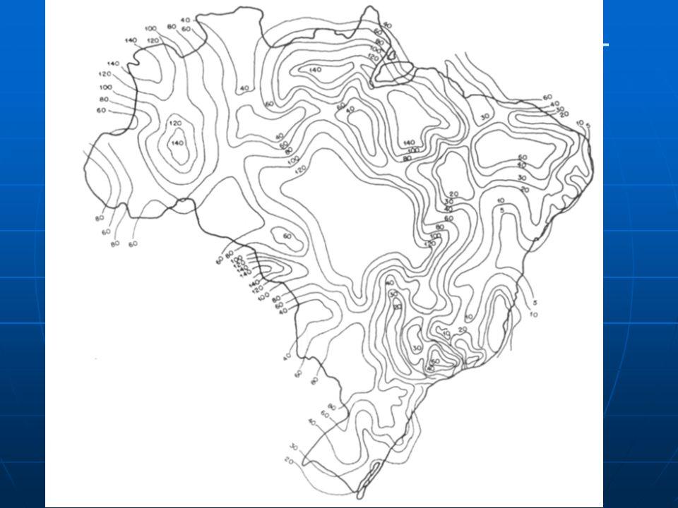 Mapa de curvas isocerâunicas – Brasil