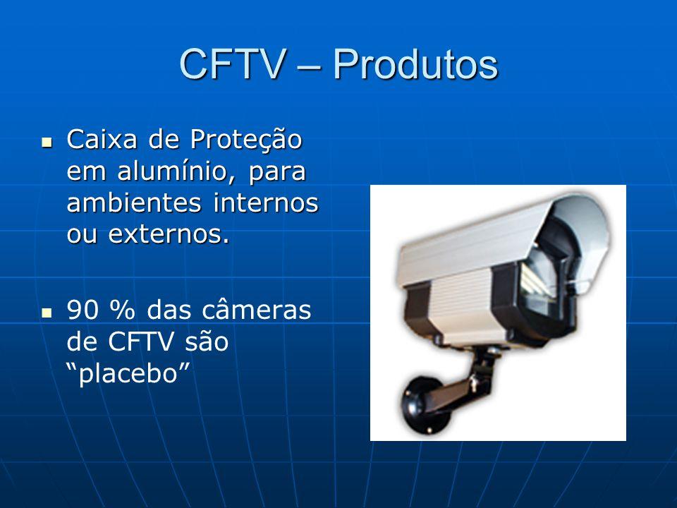 CFTV – Produtos Caixa de Proteção em alumínio, para ambientes internos ou externos. Caixa de Proteção em alumínio, para ambientes internos ou externos