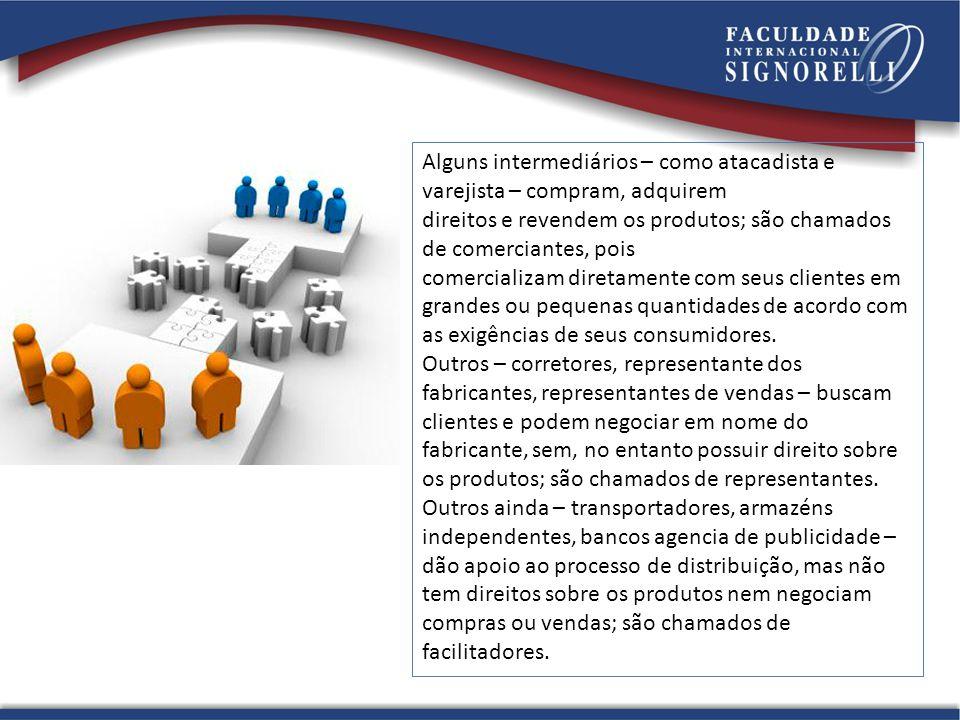 As decisões referentes aos canais de marketing estão entre as mais essências com que os gerentes têm a lidar.