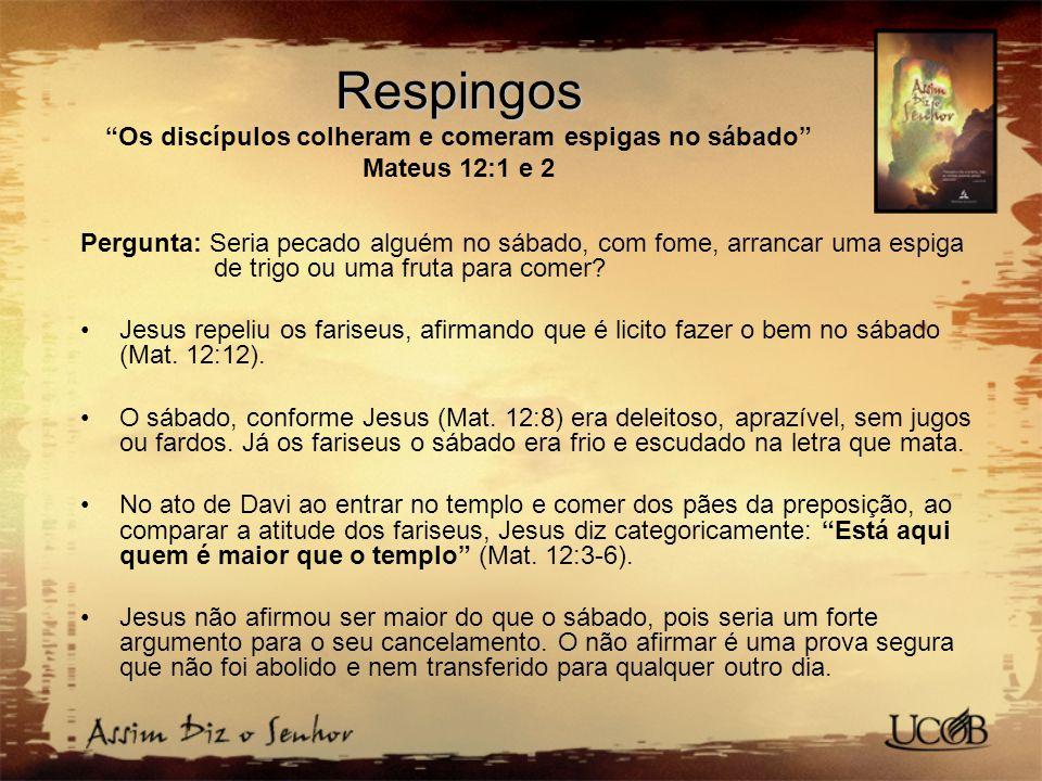Meu pai trabalha até agora e eu trabalho também (João 5:17) Pergunta: Qual era o trabalho de Jesus.