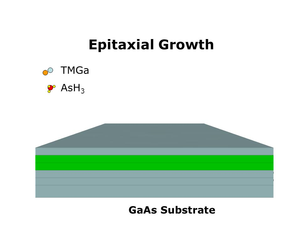 TMGa AsH 3 Epitaxial Growth GaAs Substrate