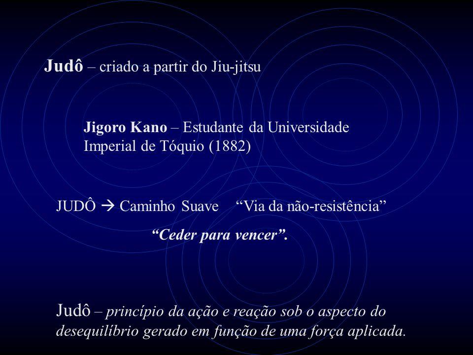 """Judô – criado a partir do Jiu-jitsu Jigoro Kano – Estudante da Universidade Imperial de Tóquio (1882) JUDÔ  Caminho Suave """"Via da não-resistência"""" """"C"""