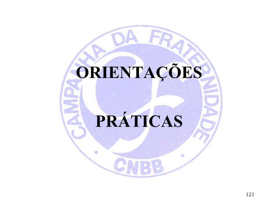 ORIENTAÇÕES PRÁTICAS 121