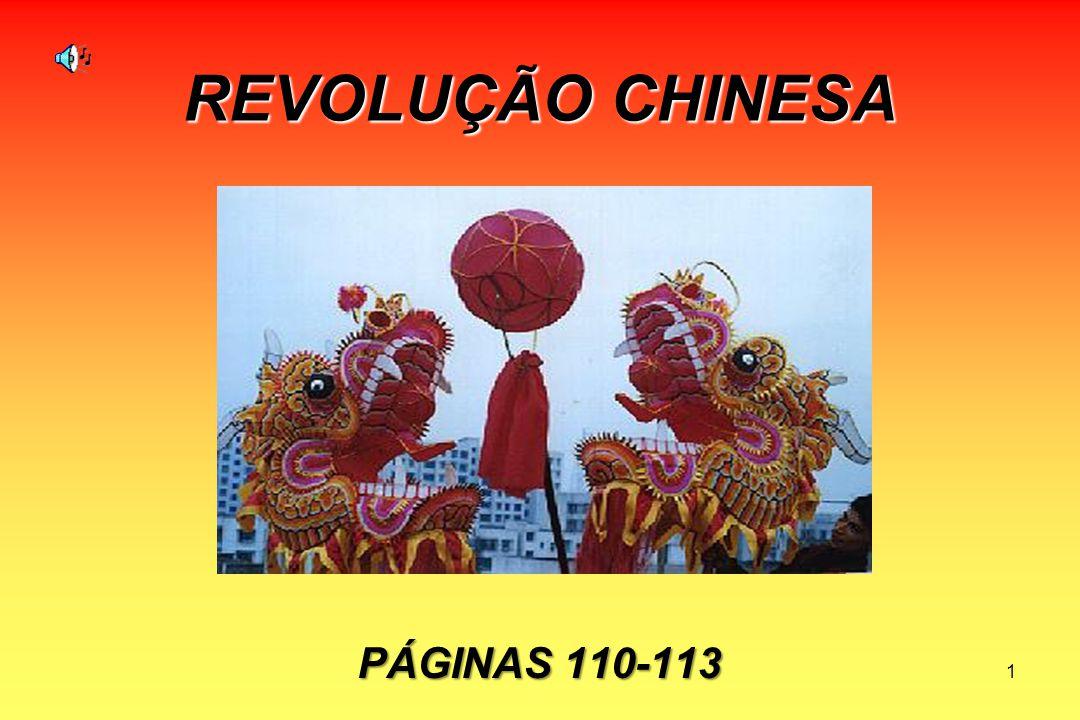 1 REVOLUÇÃO CHINESA PÁGINAS 110-113