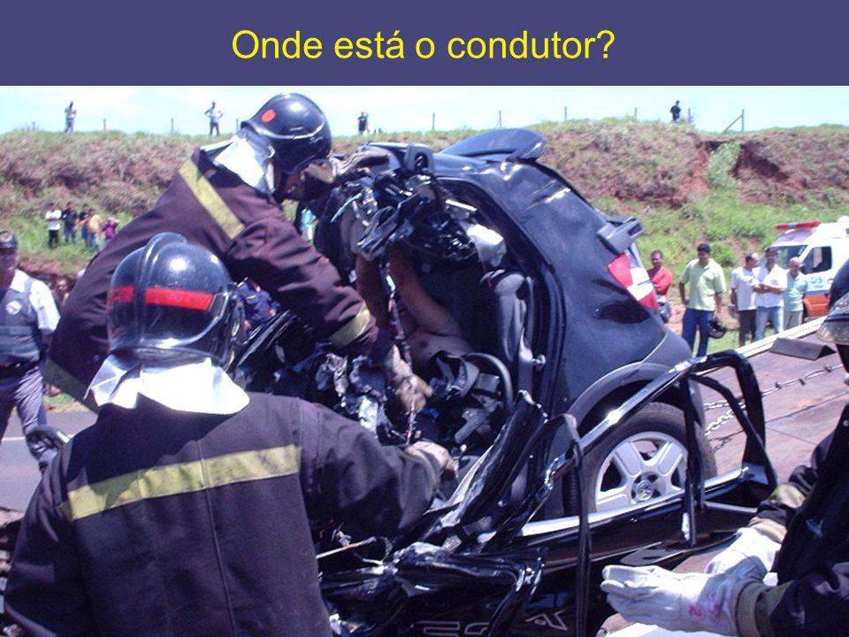 Onde está o condutor?