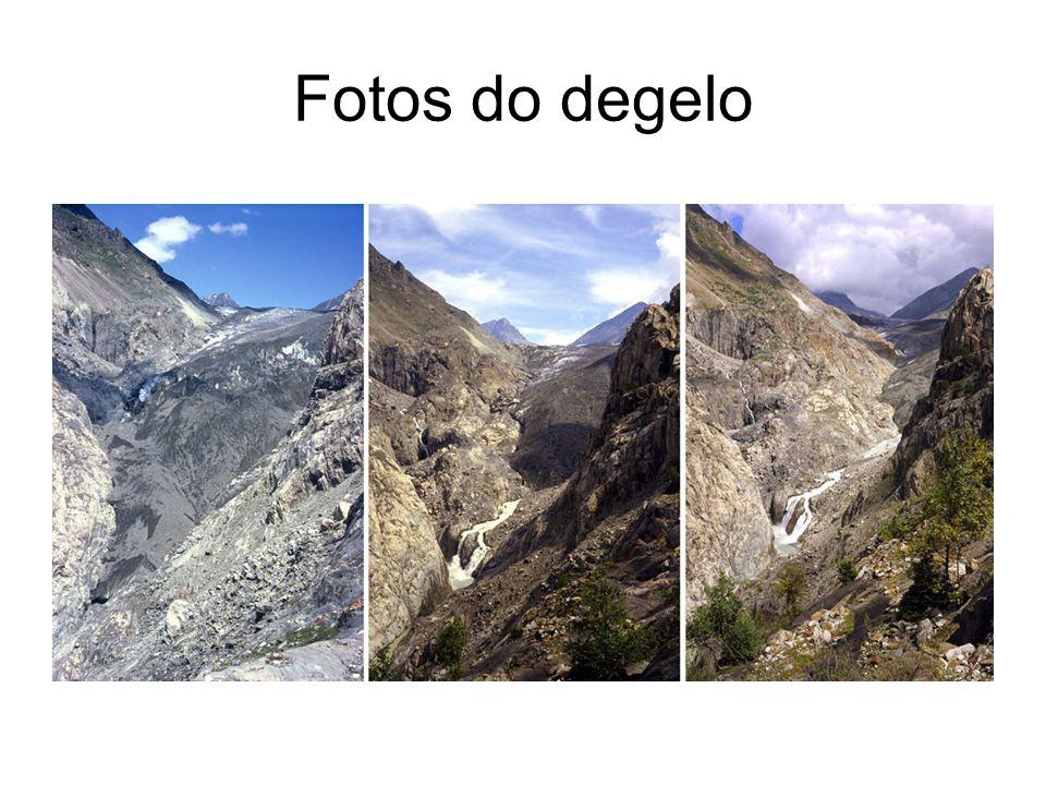 Fotos do degelo