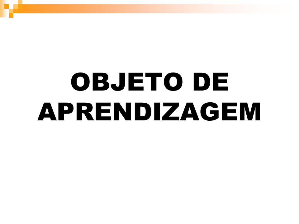 OBJETO DE APRENDIZAGEM
