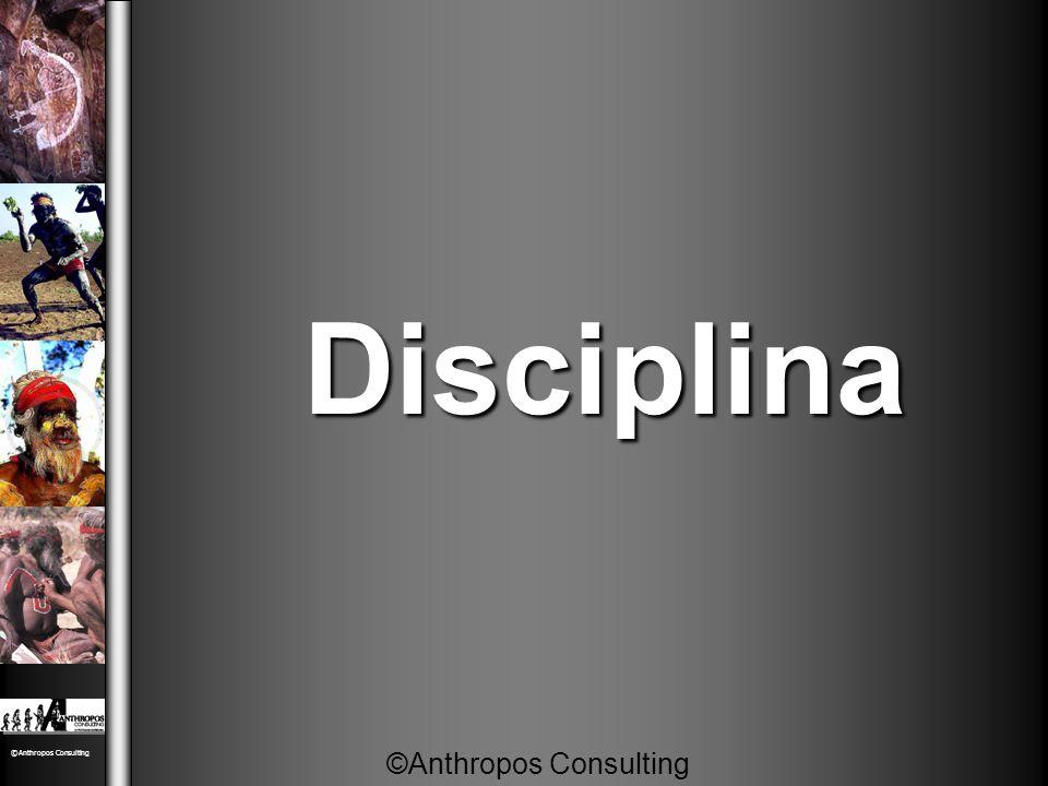 Disciplina Disciplina ©Anthropos Consulting