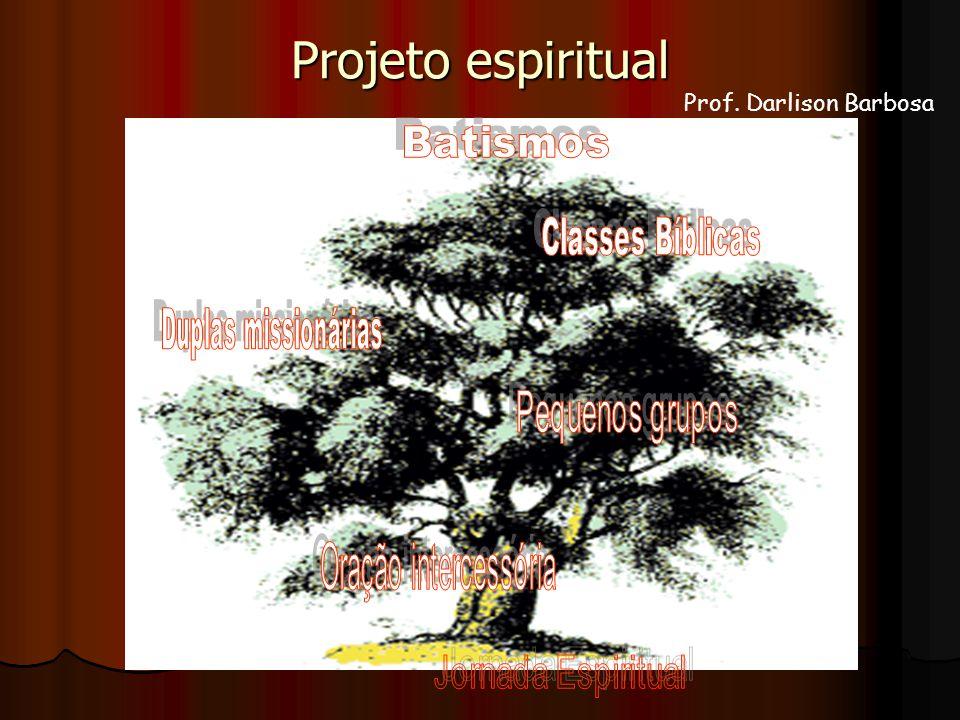 Projeto espiritual Prof. Darlison Barbosa
