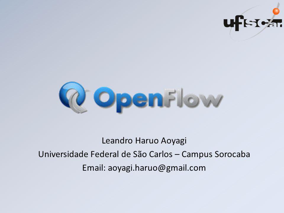 Leandro Haruo Aoyagi Universidade Federal de São Carlos – Campus Sorocaba Email: aoyagi.haruo@gmail.com