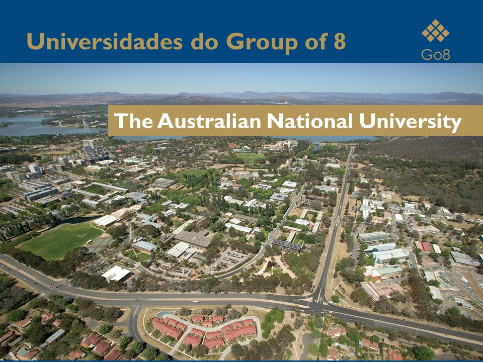 The Australian National University Universidades do Group of 8
