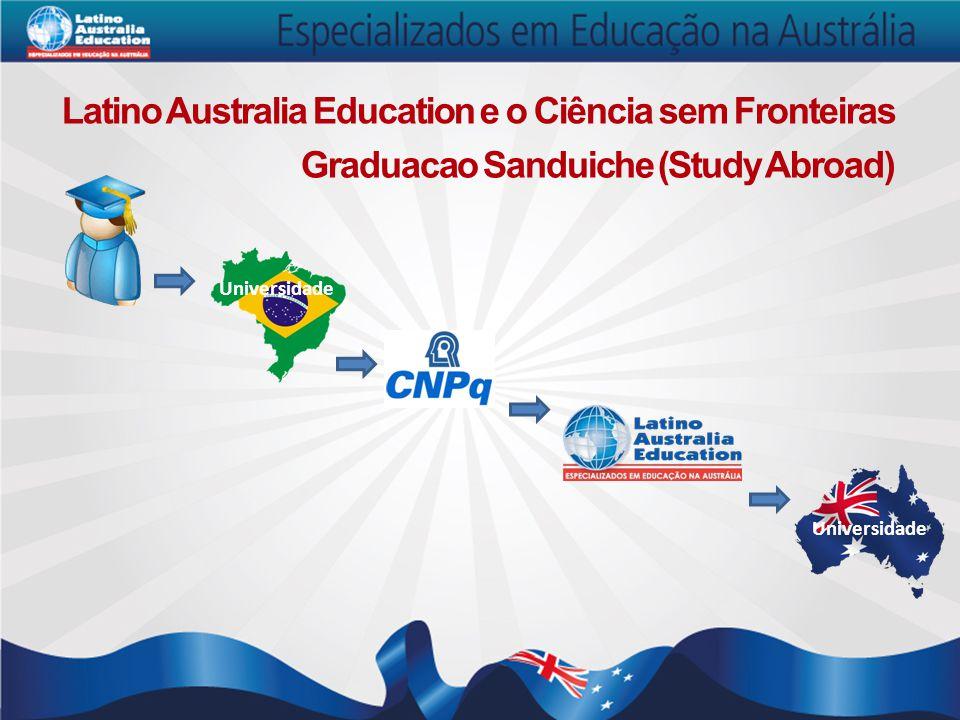 Graduacao Sanduiche (Study Abroad) Latino Australia Education e o Ciência sem Fronteiras Universidade
