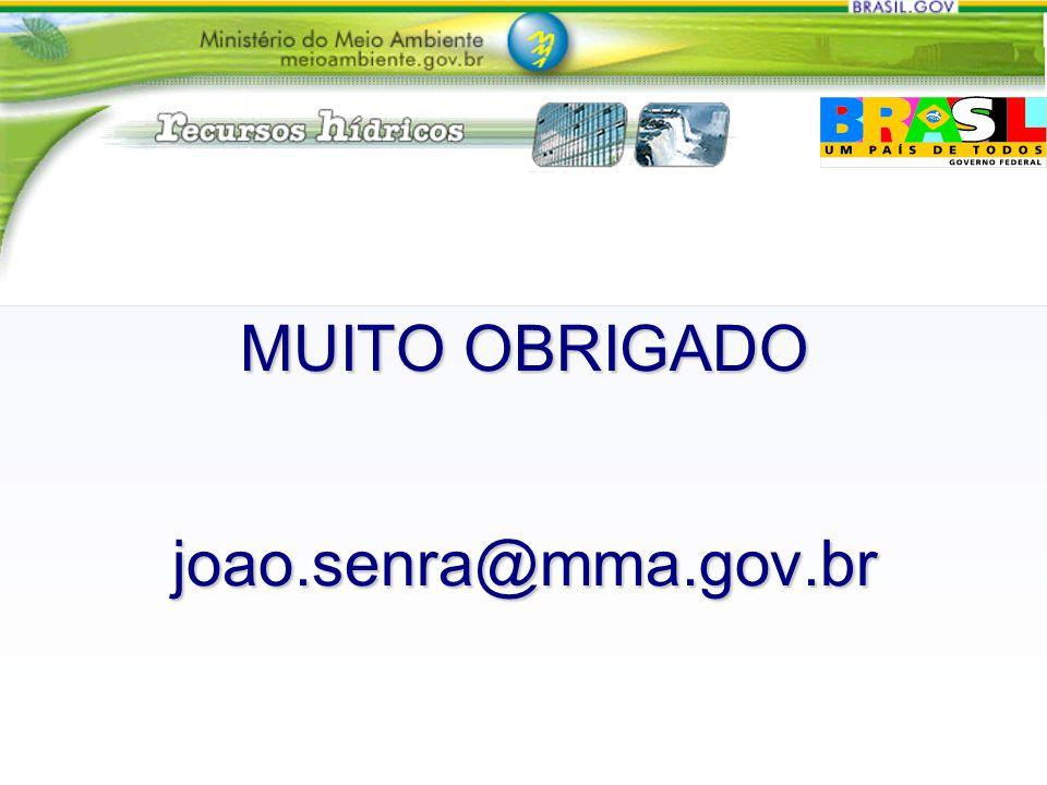 MUITO OBRIGADO joao.senra@mma.gov.br