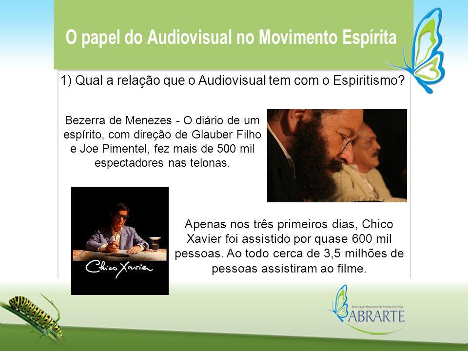 Bezerra de Menezes - O diário de um espírito, com direção de Glauber Filho e Joe Pimentel, fez mais de 500 mil espectadores nas telonas. Apenas nos tr
