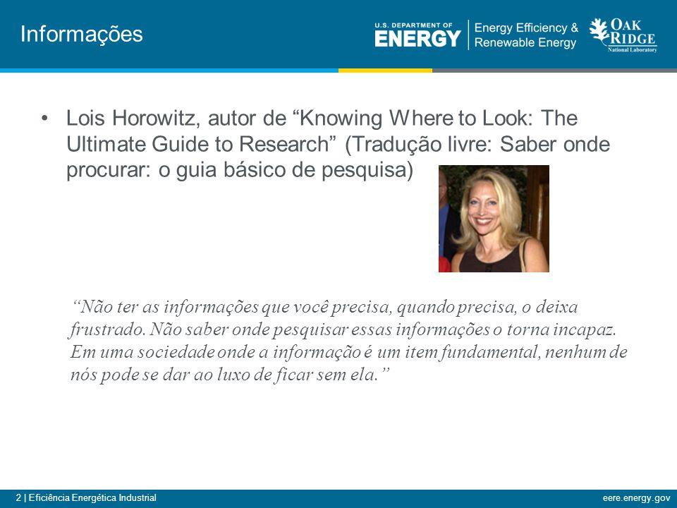 13 | Eficiência Energética Industrialeere.energy.gov Website da ferramenta QuickPEP