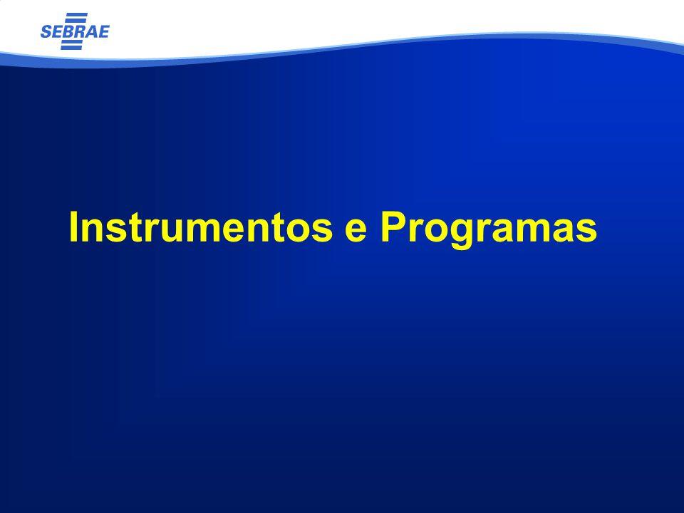 Instrumentos e Programas