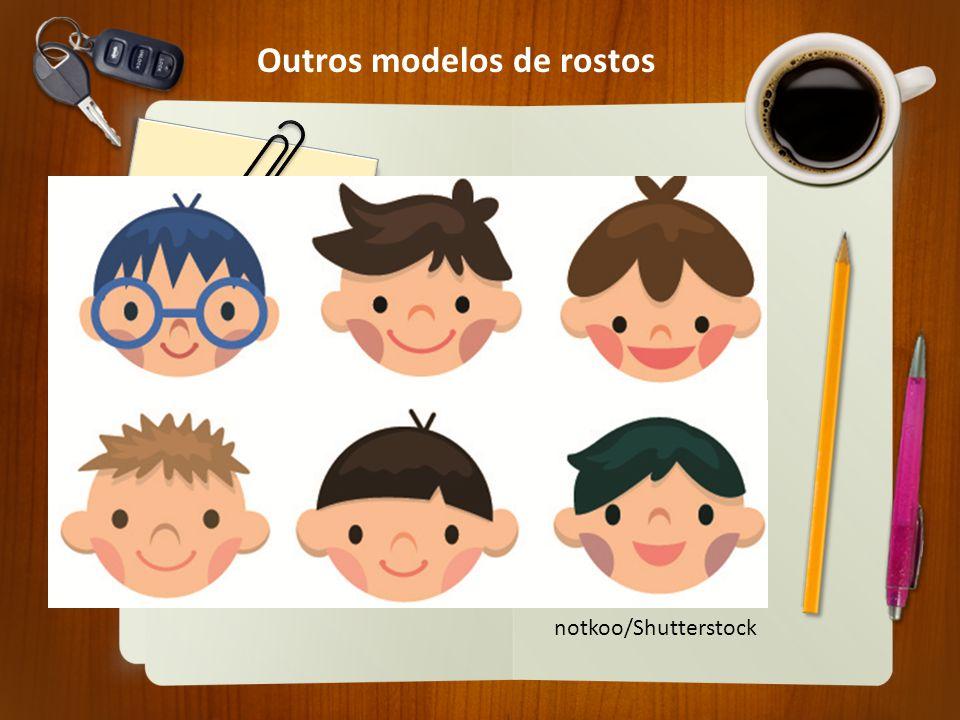Outros modelos de rostos notkoo/Shutterstock