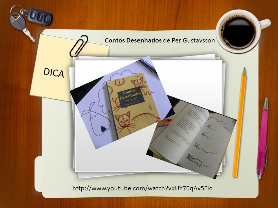 DICA Contos Desenhados de Per Gustavsson http://www.youtube.com/watch?v=UY76qAv5Flc