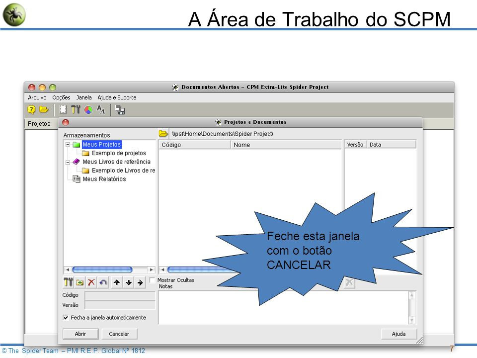 © The Spider Team – PMI R.E.P.