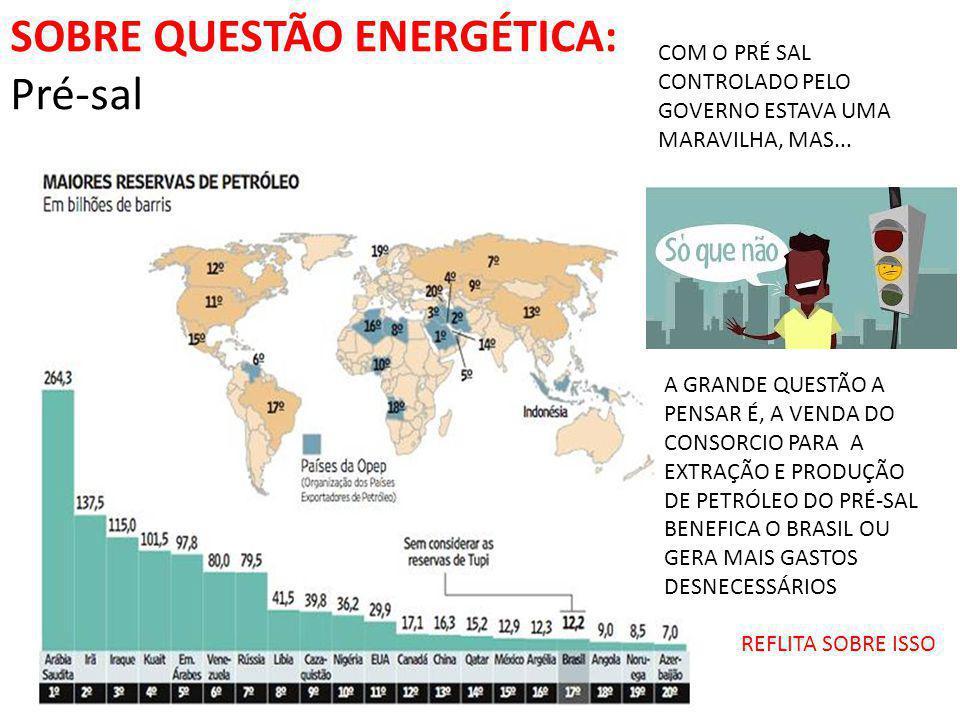 SOBRE QUESTÃO ENERGÉTICA: transposição do rio São Francisco A presidente Dilma Rousseff disse, nesta terça- feira (22), que as obras da transposição do Rio São Francisco estão em pleno andamento e que até ano que vem teremos os primeiros 100 quilômetros concluídos .
