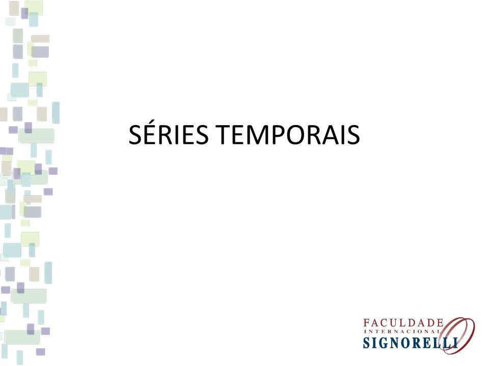 Uma série temporal é uma conjunto de observações feitas sequencialmente ao longo do tempo.