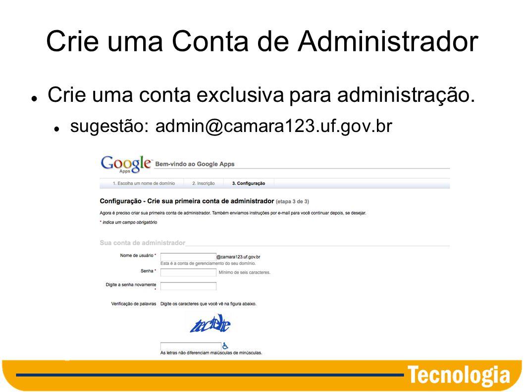 Confirmação da Propriedade do Domínio Há duas maneiras: Criação de um registro CNAME no servidor DNS.