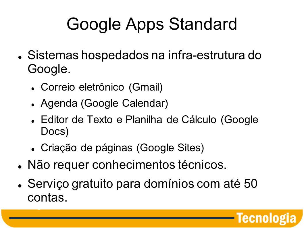 Registro de Domínio para a Câmara Municipal Utilize o sufixo.gov.br, destinado a organizações governamentais.