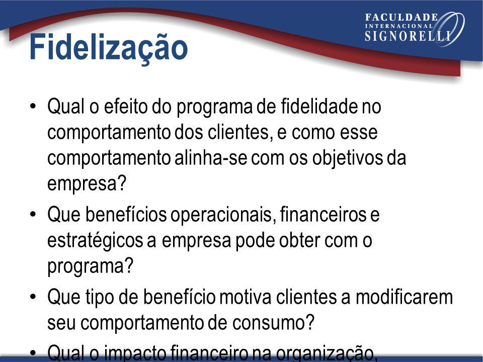 Qual o efeito do programa de fidelidade no comportamento dos clientes, e como esse comportamento alinha-se com os objetivos da empresa? Que benefícios