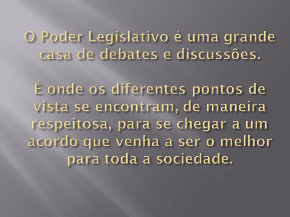  1).Subsídios;  2). Presidência da Mesa Diretora;  3).
