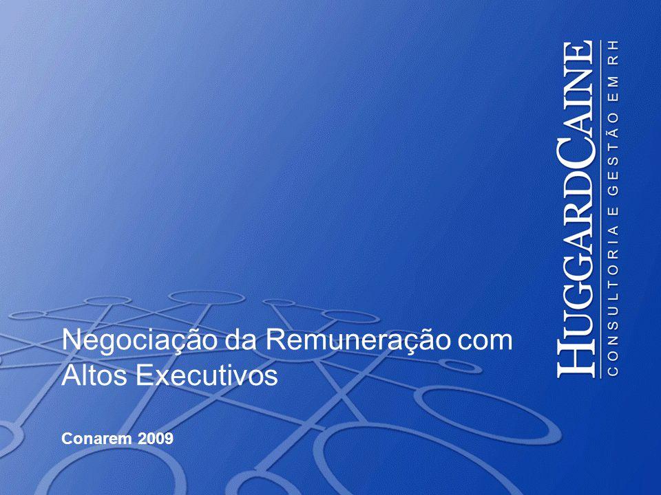 Negociação da Remuneração com Altos Executivos Conarem 2009