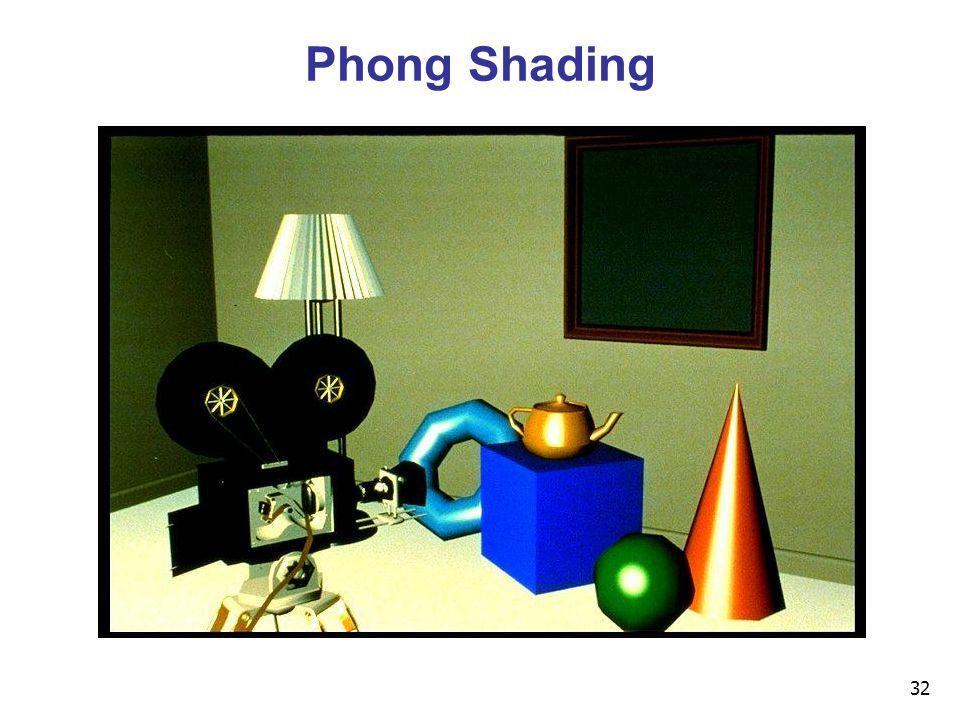 32 Phong Shading