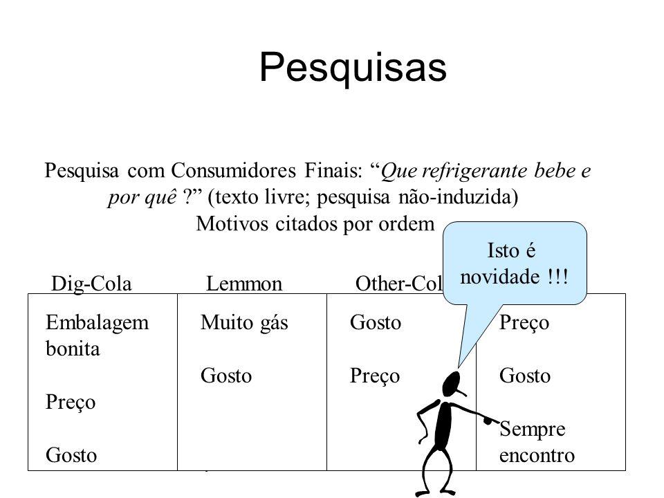"""KM Varejo 2009 - SBGC-RS39 Pesquisas Pesquisa com Consumidores Finais: """"Que refrigerante bebe e por quê ?"""" (texto livre; pesquisa não-induzida) Motivo"""