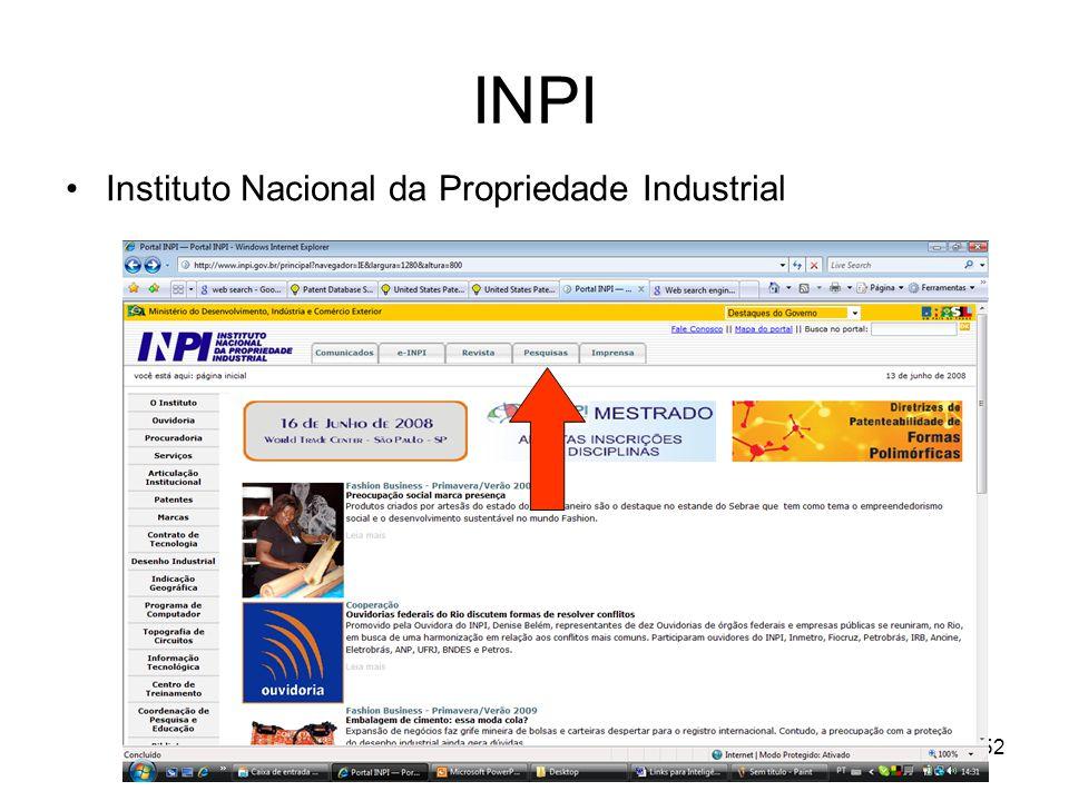 KM Varejo 2009 - SBGC-RS52 INPI Instituto Nacional da Propriedade Industrial
