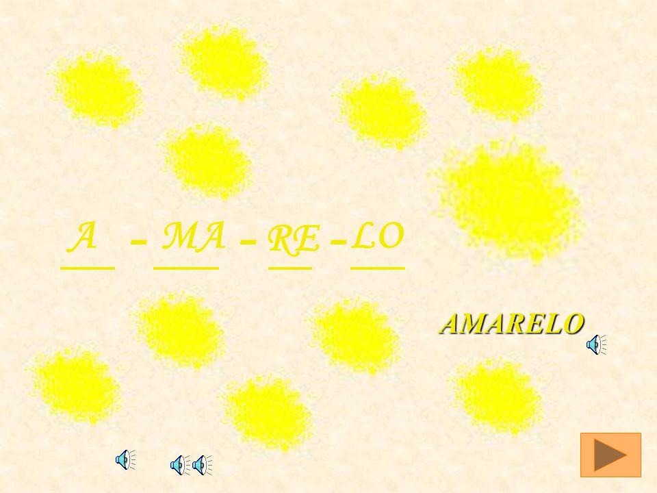AMARELO A - MA RE LO -- AMARELO