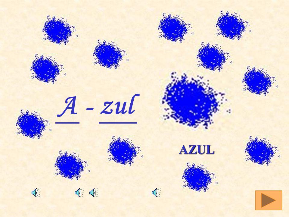 Azul A - zul AZUL