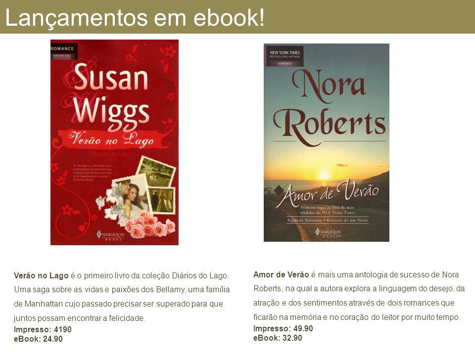 Lançamentos em ebook! Amor de Verão é mais uma antologia de sucesso de Nora Roberts, na qual a autora explora a linguagem do desejo, da atração e dos