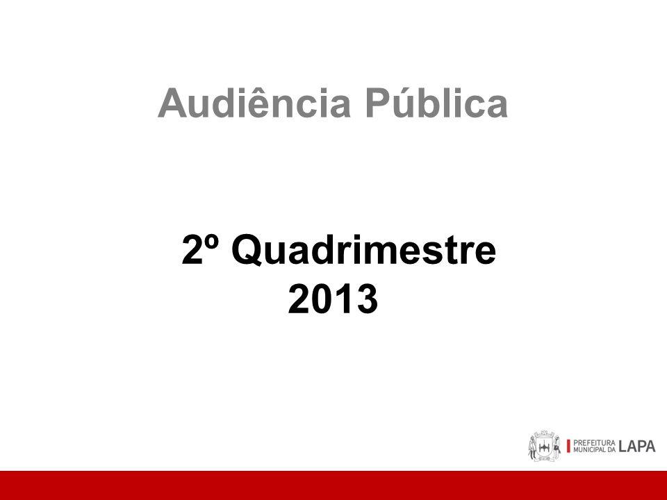 Audiência Pública 2º Quadrimestre 2013