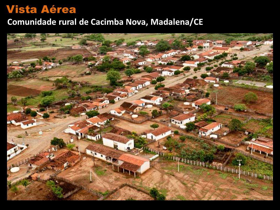 Vista Aérea Comunidade rural de Cacimba Nova, Madalena/CE