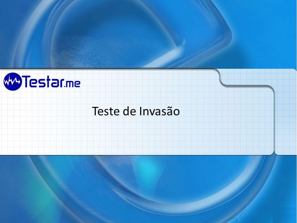 Teste de Invasão