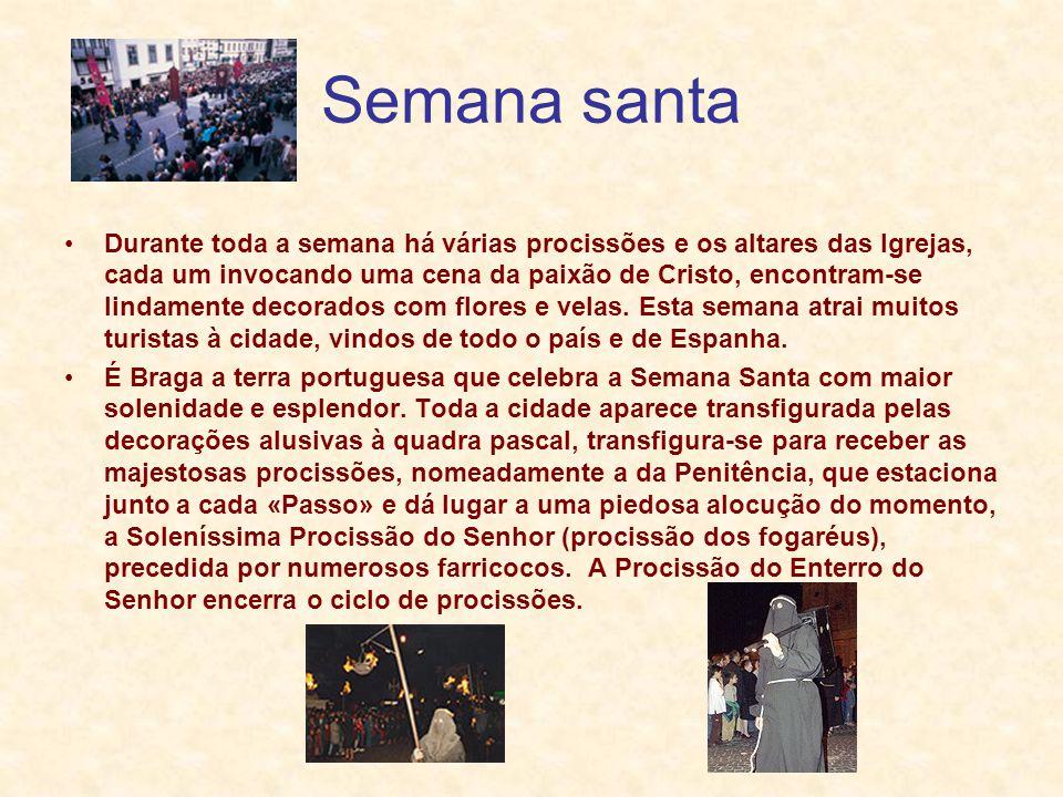 S.João de Braga Carros Alegóricos Cortejo o Rei David No dia de S.