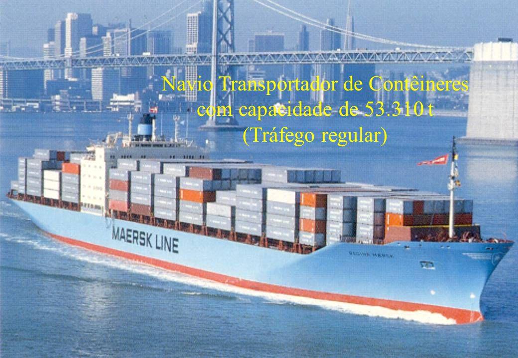 52 Navio Transportador de Contêineres com capacidade de 53.310 t (Tráfego regular)