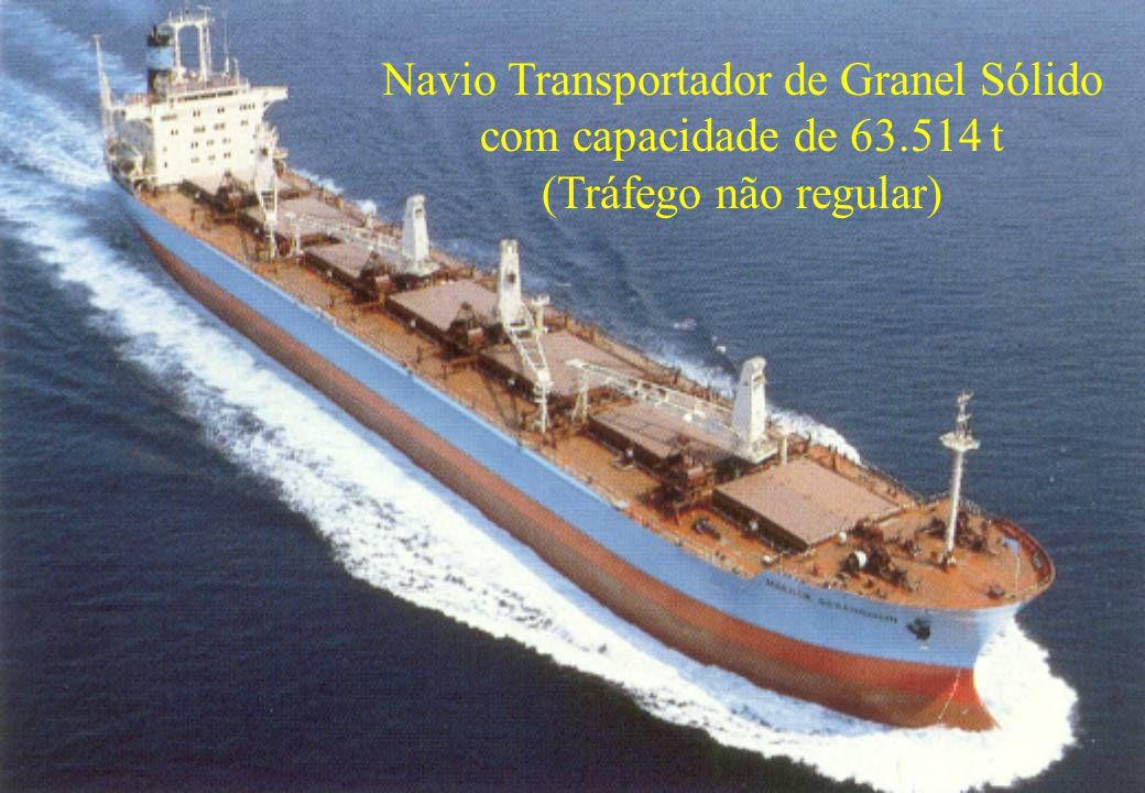 55 Navio Transportador de Granel Sólido com capacidade de 63.514 t (Tráfego não regular)